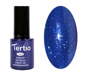 Гель лак Tertio 030, синий ультрамарин с микроблеском, 10мл