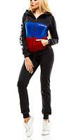 Женский спортивный трикотажный костюм