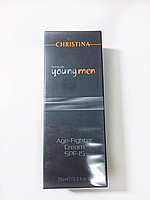 Крем для мужчин, Christina Forever Young Men Age Fighter Cream SPF 15, 75 мл