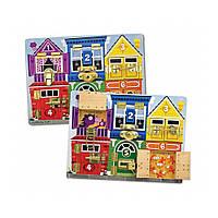 Развивающая игрушка Latches Board (Деревянная  доска с задвижками) Melissa&Doug (MD13785)