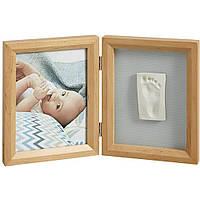 Рамка для фотографий Двойная натуральная  Baby Art (34120169)