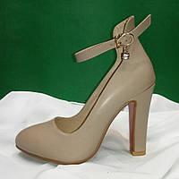 Женские туфли на каблуке маленькие размеры (СК010)