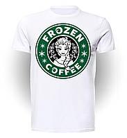 Футболка GeekLand Холодное Сердце Frozen Coffee FR.01.002
