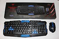 Клавиатура+мыша Havit HV-KB559GCM Wreless GAMING USB black