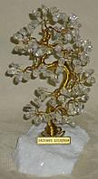 Дерево счастья с камнями горного хрусталя (16-17 см)