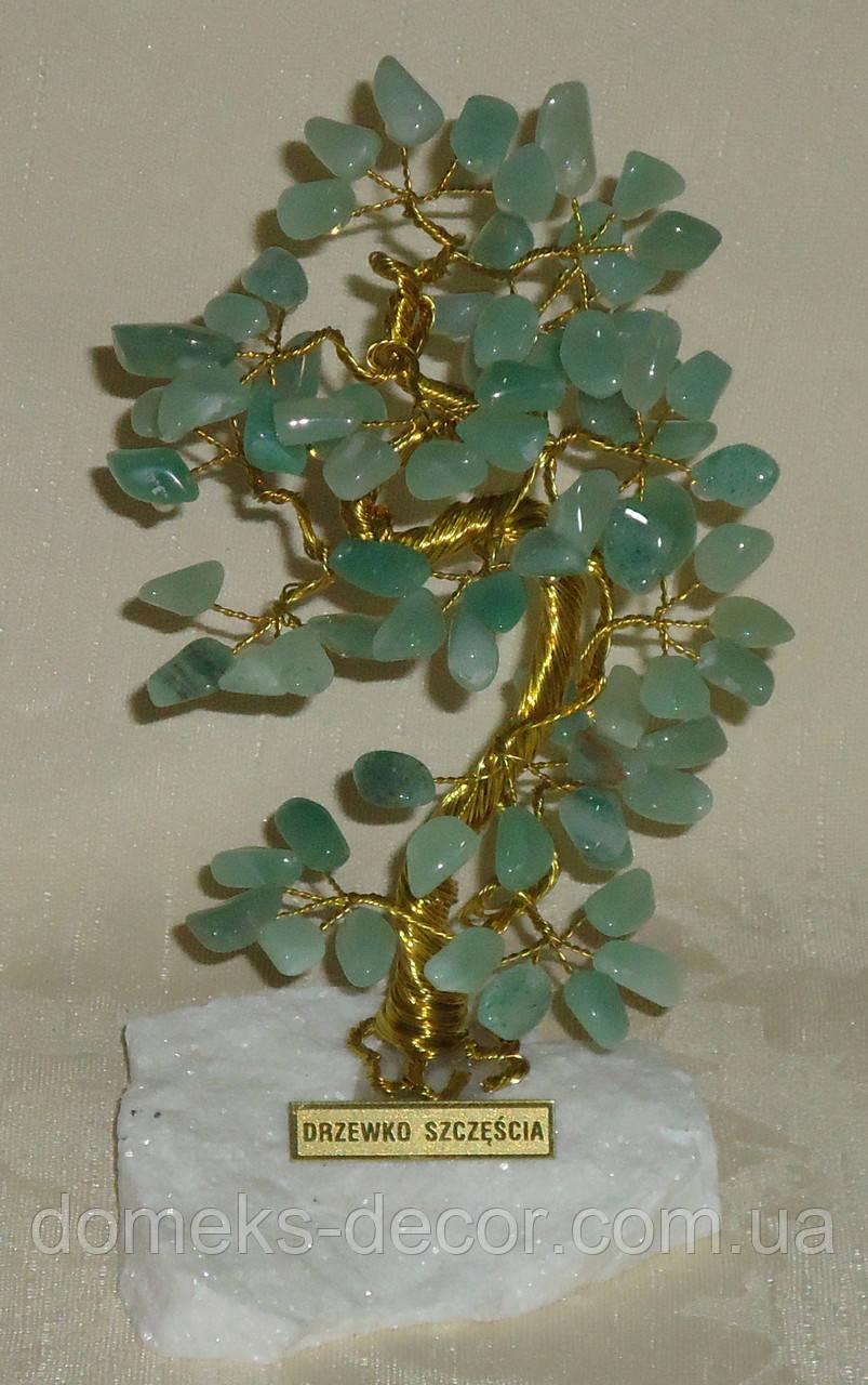 Дерево счастья с камнями авантюрина (17 см), фото 1