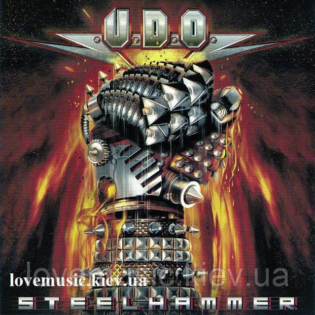 Музичний сд диск U.D.O. Steel hammer (2013) (audio cd)