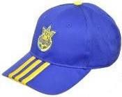 Кепка мужская Adidas X16483 синяя/желтая
