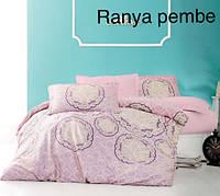 Постельное белье сатин Altinbasak (евро-размер) № Ranya Pembe, фото 1