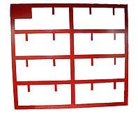 Щит пожарный открытого типа (900х1200) (пост пожарный, стенд пожарный)