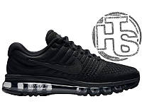 Мужские кроссовки Nike Air Max 2017 GS Triple Black 851622-004