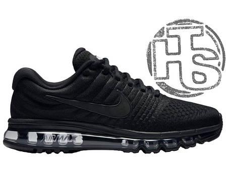 Мужские кроссовки Nike Air Max 2017 GS Triple Black 851622-004, фото 2