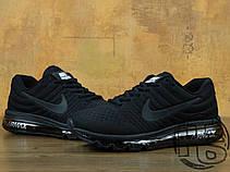 Мужские кроссовки Nike Air Max 2017 GS Triple Black 851622-004, фото 3