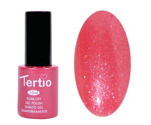Гель лак Tertio 051, розовый с микроблеском, 10мл