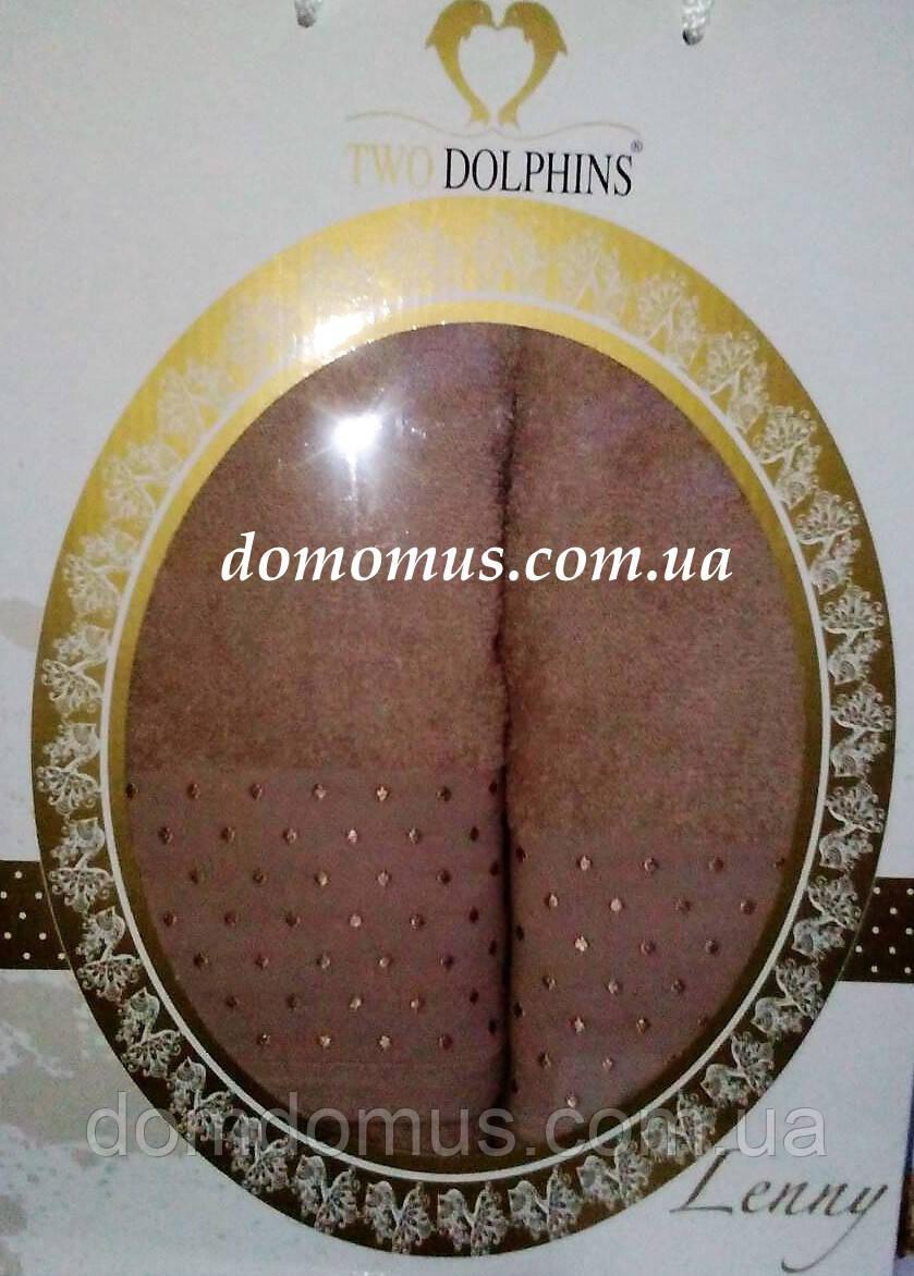 """Подарочный набор полотенец """"Lenny"""" TWO DOLPHINS, Турция 1624"""