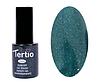 Гель лак Tertio 053, зеленый с микроблеском, 10мл
