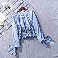 Блузка женская с вышивкой