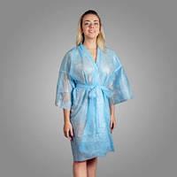 Халат-кимоно одноразовый