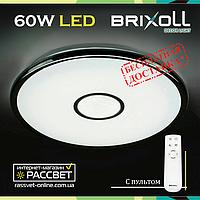 Потолочный светодиодный светильник BRIXOLL BRX-60W-007 с пультом ДУ (Smart Light Shiny) 4500Lm