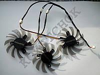 Вентилятор №70 кулер для видеокарты Gigabyte GTX 980 970 780Ti 770 760 PLD08010S12H FY08010H12LPA T128010SL