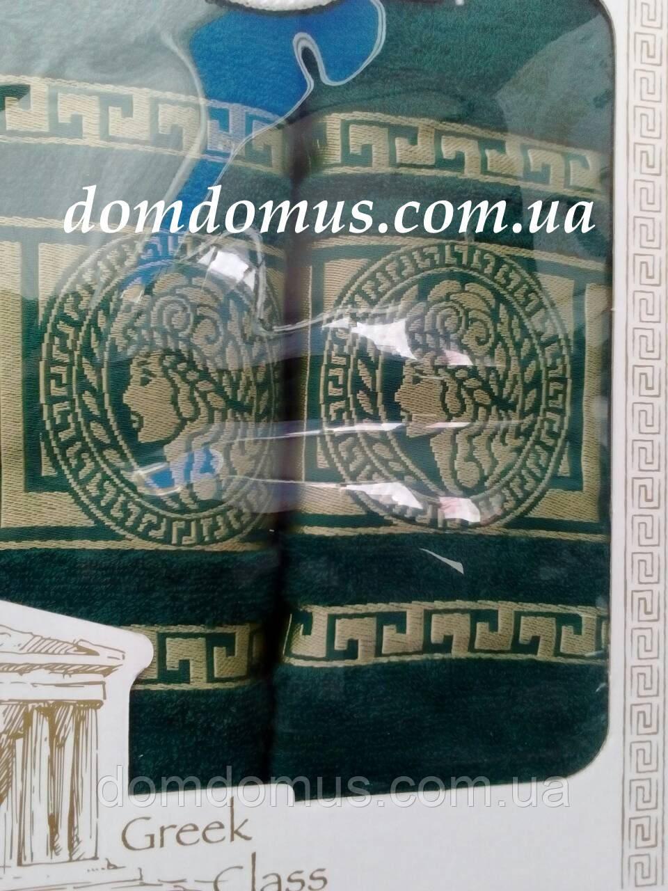 """Подарочный набор полотенец """"Greek"""" (банное+лицевое) TWO DOLPHINS 1626"""