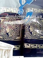 """Подарочный набор полотенец """"Greek"""" (банное+лицевое) TWO DOLPHINS 1627"""