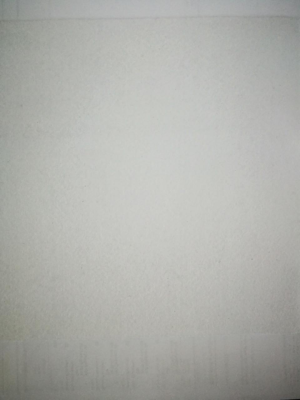 Фетр цвет белый 25смХ25см однотонный, белый снег