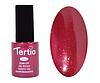Гель лак Tertio 091, бордовый с микроблеском, 10мл