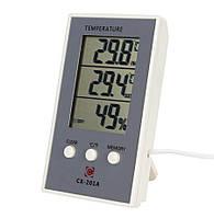 Гигрометр термометр Cx-201a с выносным датчиком температуры, фото 1