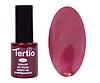 Гель лак Tertio 096, коричнево малиновый с микроблеском, 10мл