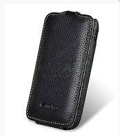 Чехол-флип (кожаный) Samsung i8160 Galaxy Ace 2 Melkco Jacka Type-черный