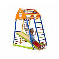 Детский спортивный комплекс для дома SportBaby  («KindWood Colors»)