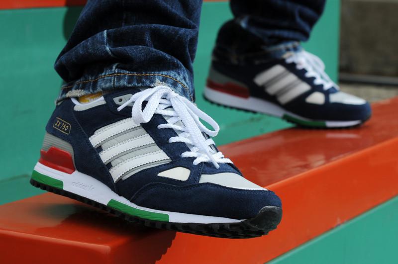 b9529e217 Мужские кроссовки Adidas ZX 750 - Магазин Nike-Shop. Брендовая спортивная  одежда и обувь