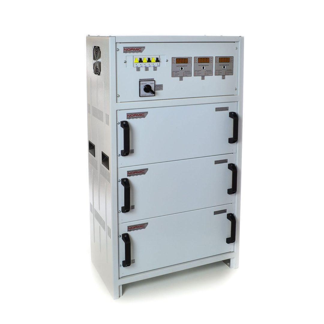 Стабилизатор напряжения трёхфазный РЭТА ННСТ-3х22 кВт NORMIC (INFINEON) 100А, фото 1