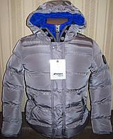 """Куртка детская удлиненная """"европейская зима"""" 110/116"""