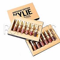"""Набор матовых помад """"Kylie"""" Gold 8607"""