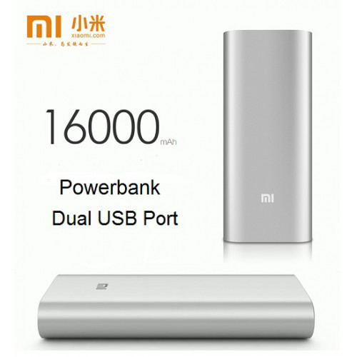 Внешний аккумулятор Power bank XIAOMI 16000