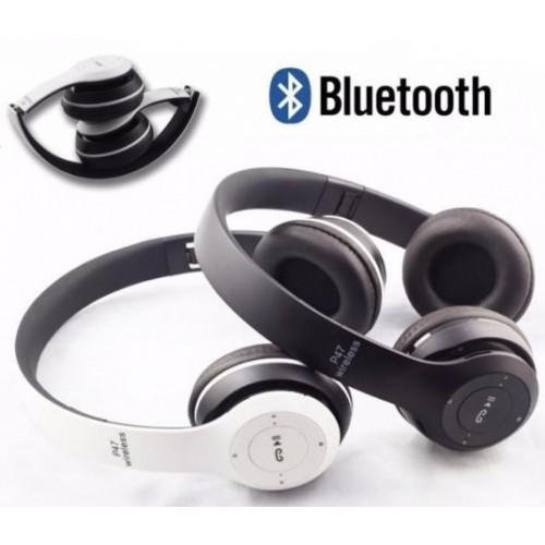 Беспроводные Наушники P-47 Bluetooth + MicroSD + FM Радио
