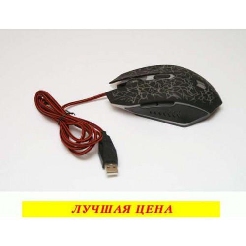 Компьютерная игровая мышь, мышка 518 с подсветкой