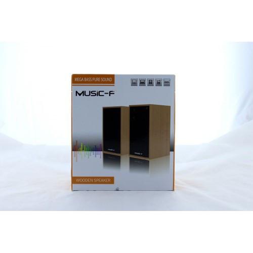 Компьютерные деревянные колонки акустика M09