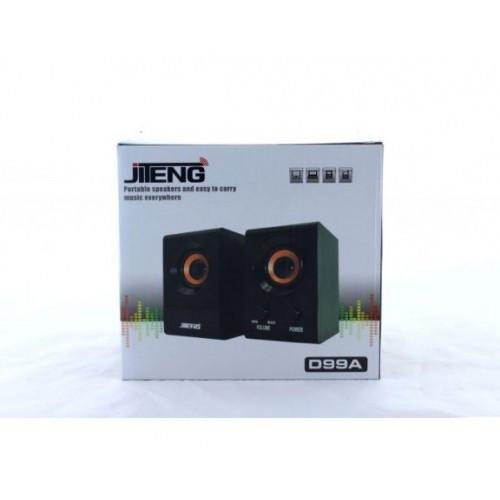 МОЩНЫЕ Компьютерные колонки Jiteng D99A 220V