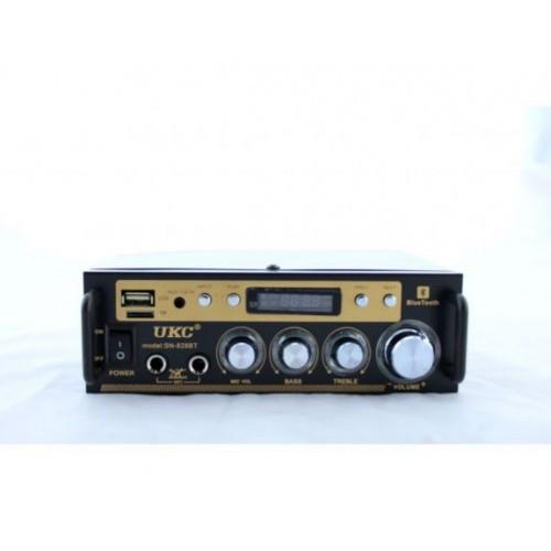 Усилитель мощности звука AMP AV 828 Bluetooth