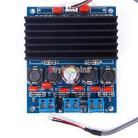 Стерео усилитель звука для автомобиля аудио 12-24В 2*50Вт TDA7492