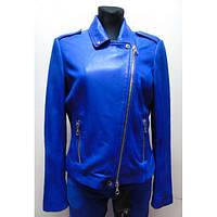 Кожаная женская куртка SET