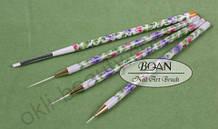 Набор кистей для дизайна ногтей и китайской росписи (4 штуки)