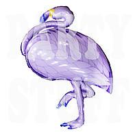 Шар Фламинго фиолетовый, 100 см