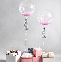 """Шарик Bubbles, без рисунка 24"""" (61*61 см)"""