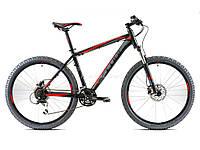 Горный велосипед Cube Aim SL, колеса 21, рама 16, black n red