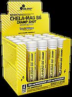 Витамины и Минералы Olimp Chela Mag B6 cramp Shot Sport Edition ampoule 20x25ml