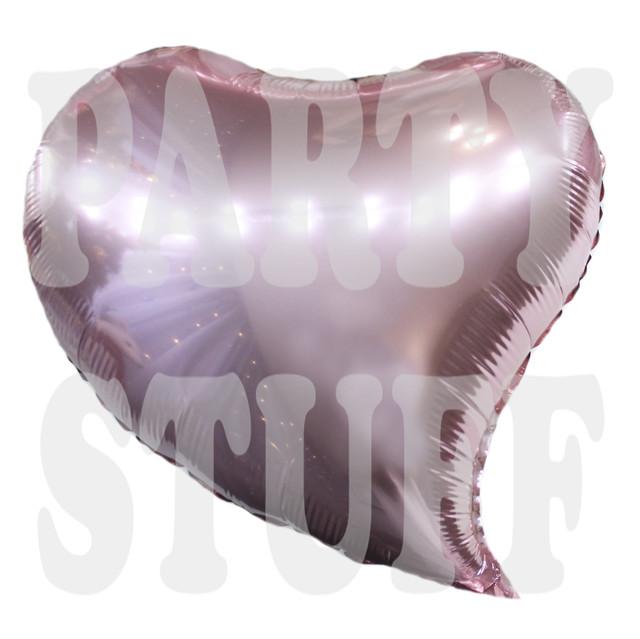 Фольгированный шарик Сердце розовое